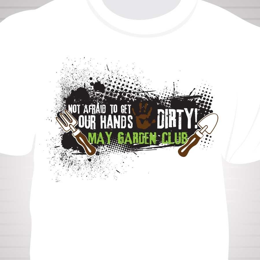 Garden Club   Category T Shirt Design